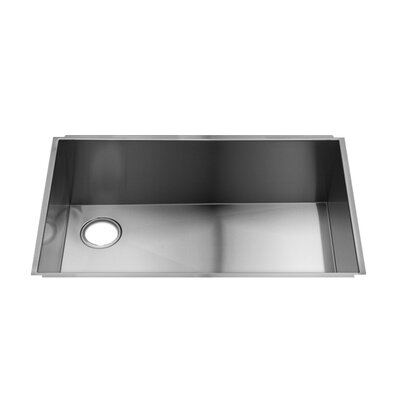"Julien UrbanEdge 31"" x 19.5"" Undermount Stainless Steel Single Bowl Kitchen Sink"