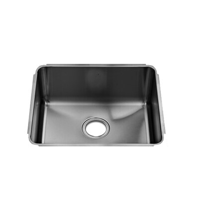 "Julien Classic 19"" x 17.5"" Stainless Steel Single Bowl Kitchen Sink"