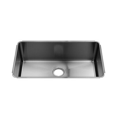 "Julien Classic 31"" x 18.5"" Undermount Single Bowl Kitchen Sink"