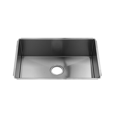 "Julien J7 25"" x 17.5"" x 8"" Undermount Single Bowl Kitchen Sink"