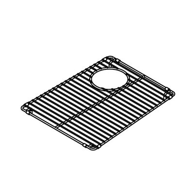 "Julien Trapezoid 12"" x 15"" Electropolished Grid for 13''x16'' Sink"