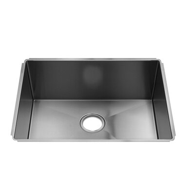 "Julien J7 25"" x 19.5"" Undermount Single Bowl Kitchen Sink"