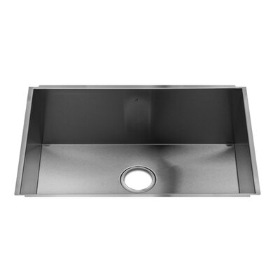 "Julien UrbanEdge 28"" x 18.5"" Undermount Single Bowl Kitchen Sink"