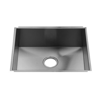 "Julien UrbanEdge 11"" x 17.25"" Undermount 16 Gauge Stainless Steel Single Bowl Kitchen Sink"