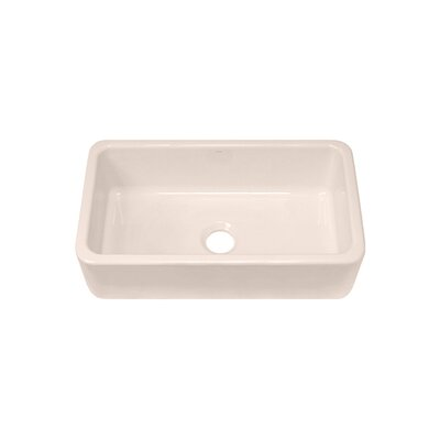 "Julien F140 31.25"" x 18.13"" Farmhouse Single Bowl Kitchen Sink"