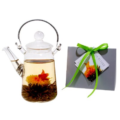 Tea Beyond Blooming Teapot Duo KJ Tea Gift Set