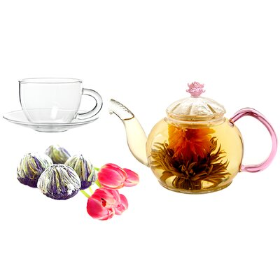 Tea Beyond Juliet Fab Flowering Tea Set