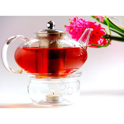Tea Beyond Harmony Teapot with Tea Warmer Cozy