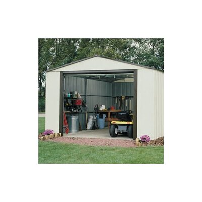 Arrow Murryhill Vinyl Coated Steel Storage Shed