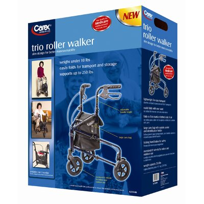 Carex Trio Roller Walker
