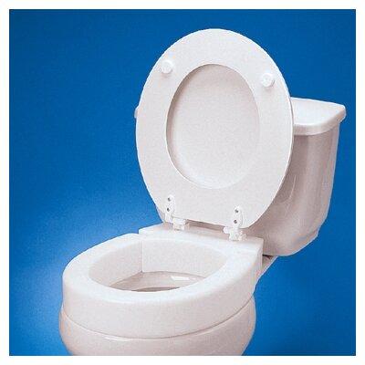 Maddak Standard Hinged Raised Toilet Seat Amp Reviews Wayfair