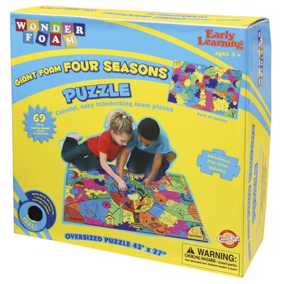 WonderFoam Giant Four Seasons Activity Puzzle