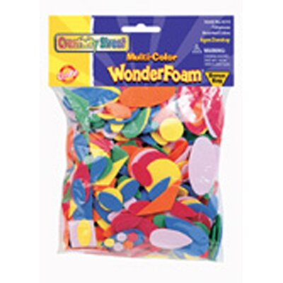 Chenille Kraft Company Wonderfoam 720 Pcs In Assorted Colors