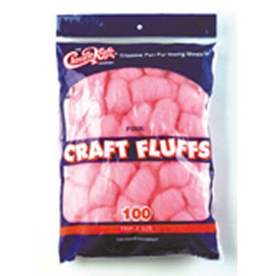 Chenille Kraft Company Craft Fluffs Pink