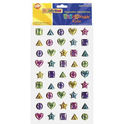 Chenille Kraft Company Scrapbookin Kids Gemstones Shapes