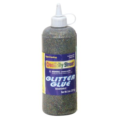 Chenille Kraft Company Glitter Glue Multi Color 4 Oz