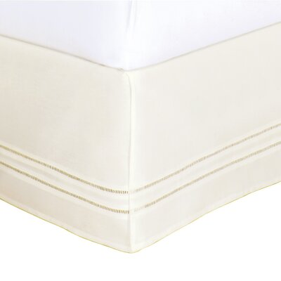 Fresh Ideas Hemstitch Bed Skirt in Ivory