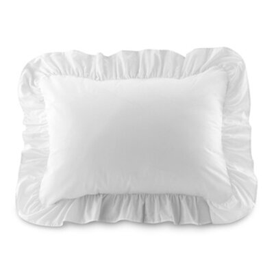 Fresh Ideas Ruffled Sham Set in White