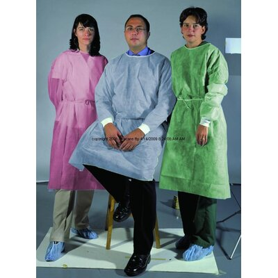AMD-RITMED Inc. Regular Isolation Gown in Yellow