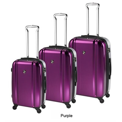 Heys USA Duotone 3 Piece Spinner Luggage Set