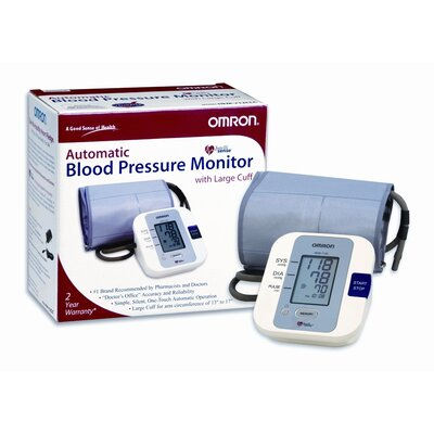 Omron Healthcare Automatic Digital BP Monitor with Large Cuff