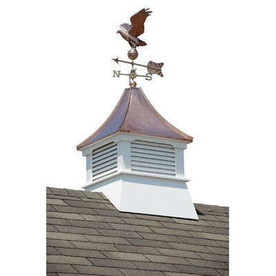 Homeplace Belvedere Cupola With Copper Roof And