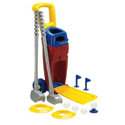American Plastic Toys Junior Combo Golf Game Set