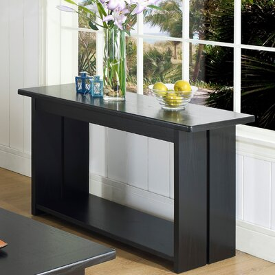 Somerton Ebony Console Table