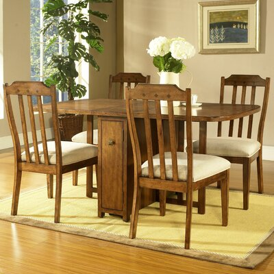 Somerton Dwelling Craftsman 5 Piece Dining Set