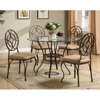 Anthony California 5 Piece Dining Set