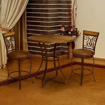 3 Piece Counter Height Pub Set