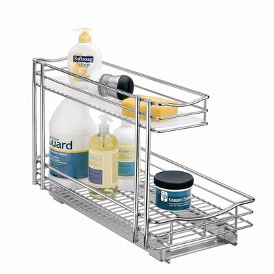 "Lynk Professional 11 1/2"" x 18"" Roll Out Under Sink Drawer"