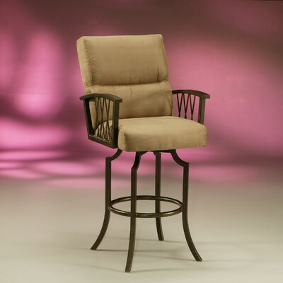 Pastel Furniture Ravenwood Barstool in Autumn Rust