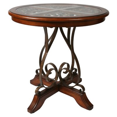 "Pastel Furniture Carmel 40"" Round Pub Table"