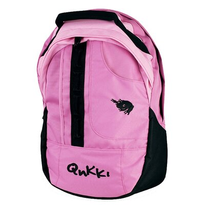 "QNKKI 17"" Laptop Backpack in Pink"