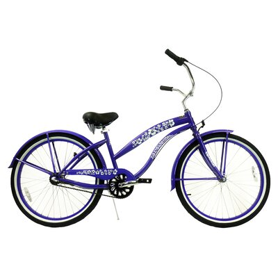 Greenline Bicycles Women's 3-Speed Premium Beach Cruiser