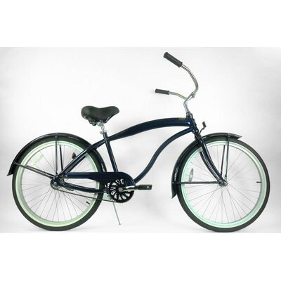 Greenline Bicycles Men's 3-Speed Aluminum Beach Cruiser