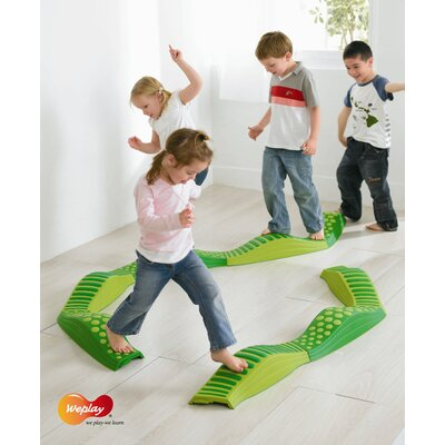 Weplay Wavy Tactile Path in Green