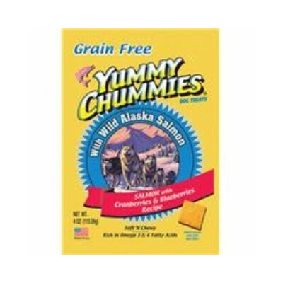 Arctic Paws Yummy Chummies Salmon and Berries - Grain Free Dog Treat