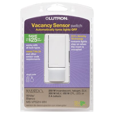 Lutron Vacancy Sensor Switch