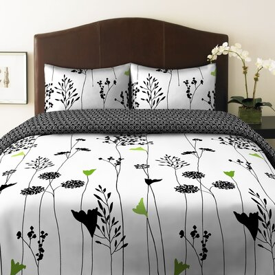 Perry Ellis Asian Lily Duvet Set