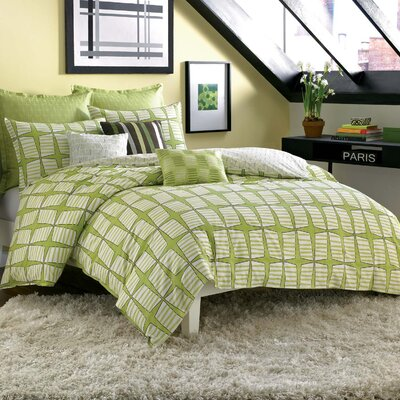 City Scene Not Neutral Pinwheel Duvet Cover Collection