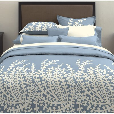 City Scene Branches Duvet Cover in French Blue