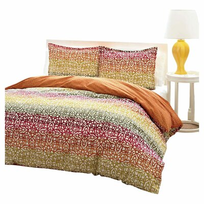 City Scene Fiesta Stripe Comforter Set