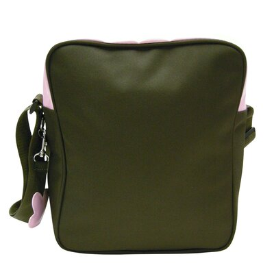 Three Picnic Stripe Sling Bag in Khaki