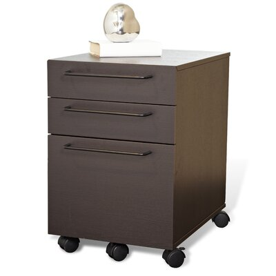 Jesper Office Tribeca 211 Three-Drawer File Cabinet