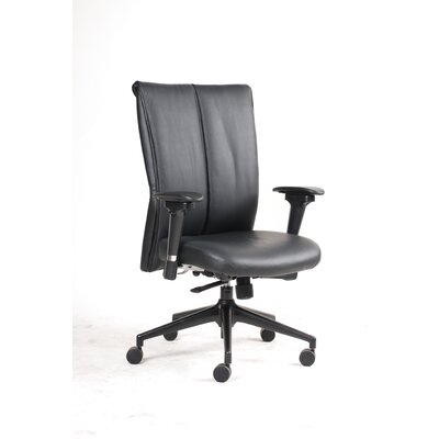 Jesper Office Mid-Back Leather Executive Chair