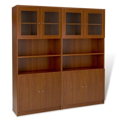 "Jesper Office 100 72"" Double Bookcase"