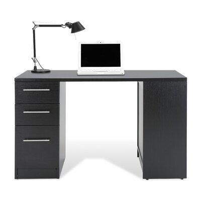 Study Computer Desk with Bookcase and File