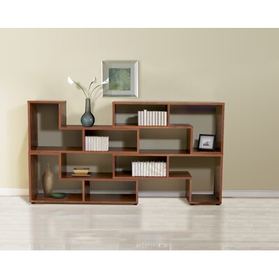 Jesper Office Open Storage Bookcase in Cherry (Set of 4)